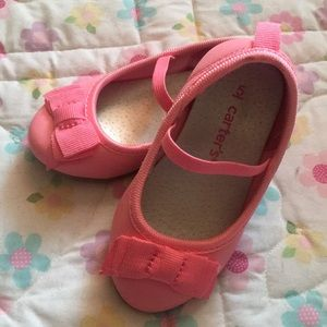 Carters Baby Girl Pink Shoes